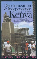Decolonization and Independence in Kenya