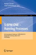 S BPM ONE   Running Processes