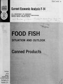 Food Fish  canned Products Situation and Outlook