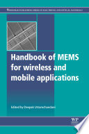 Handbook Of Mems For Wireless And Mobile Applications Book PDF
