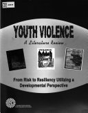 Youth Violence, a Literature Review