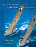Essential Statistics in Business and Economics with St CDRom