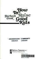 How to Raise Good Kids Book PDF