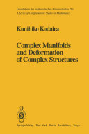 Complex Manifolds and Deformation of Complex Structures [Pdf/ePub] eBook