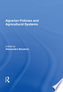 Agrarian Policies And Agricultural Systems