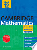 Cambridge 3 Unit Mathematics Year 12 Enhanced Version  , Volume 3