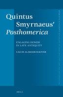 Quintus Smyrnaeus' Posthomerica