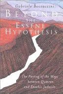 Pdf Beyond the Essene Hypothesis