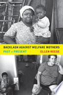 Backlash against Welfare Mothers Pdf/ePub eBook