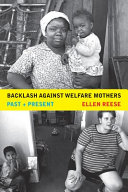 Pdf Backlash against Welfare Mothers
