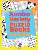 Jumbo Variety Puzzle Books For Adults