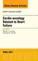 Cardio Oncology Related To Heart Failure An Issue Of Heart Failure Clinics Book PDF