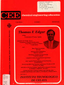 CEE  Chemical Engineering Education