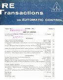 IRE Transactions on Automatic Control