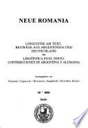 Neue Romania