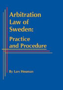 Arbitration Law of Sweden