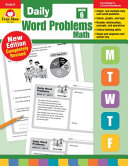 Daily Word Problems  Grade 6 Book