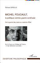 Pdf Michel Foucault, la politique comme guerre continuée Telecharger