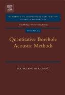 Quantitative Borehole Acoustic Methods