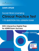 Social Work Licensing Clinical Practice Test