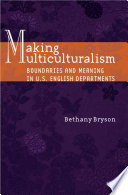 Making Multiculturalism