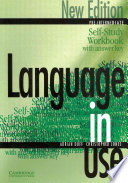 Language in Use Pre-Intermediate Self-study Workbook/answer Key