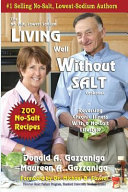 Living Well Without Salt Book