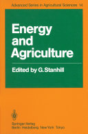 Pdf Energy and Agriculture Telecharger