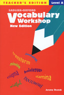 Vocabulary Workshop Level A Teacher s Edition  New Edition