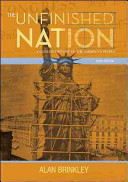 The Unfinished Nation  A Concise History of the American People