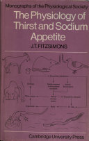 The Physiology of Thirst and Sodium Appetite
