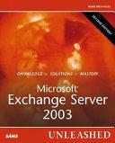 Microsoft Exchange Server 2003 Unleashed Book PDF