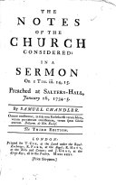 The Notes of the Church Considered ebook