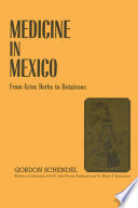 Medicine in Mexico Book