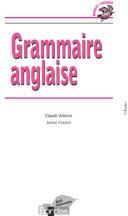Bordas Langues - Grammaire anglaise