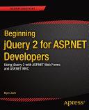 Beginning jQuery 2 for ASP.NET Developers Pdf/ePub eBook