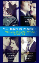 Modern Romance Collection: February 2018 Books 1 - 4 (Mills & Boon e-Book Collections)