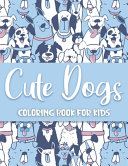 Cute Dogs Coloring Book