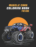 Muscle Cars Coloring Book for Kids