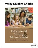 Educational Testing and Measurement