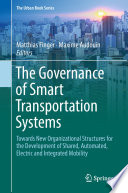 The Governance of Smart Transportation Systems
