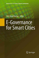 E Governance for Smart Cities
