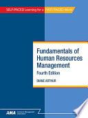 Fundamentals Of Human Resources Management