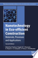 Nanotechnology In Eco Efficient Construction Book PDF