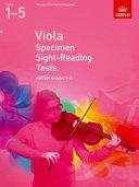 Viola Specimen Sight Reading Tests 1-5