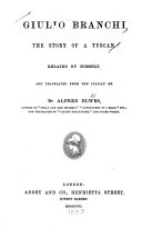 Giulio Branchi  the Story of a Tuscan