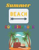 Summer Beach Coloring Book