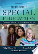 Research in Special Education