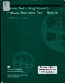 Seismic Retrofitting Manual for Highway Structures Book