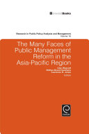 Pdf The Many Faces of Public Management Reform in the Asia-Pacific Region Telecharger